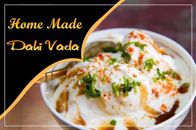Home-Made South Asian Escape: Dahi Vada Made Easy
