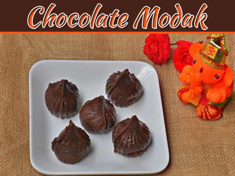 How To Make Chocolate Modak At Home?