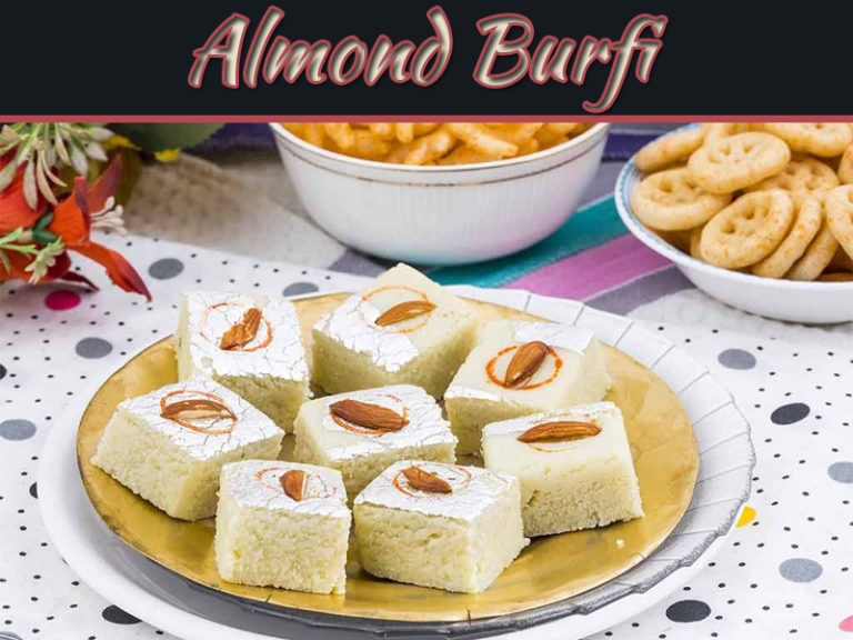 How To Make Grilled Almond Burfi At Home Without Oven