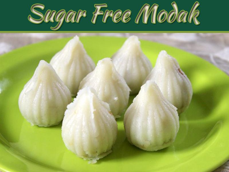 How To Make Sugar Free Modak - Delicious Sugar Free Desserts