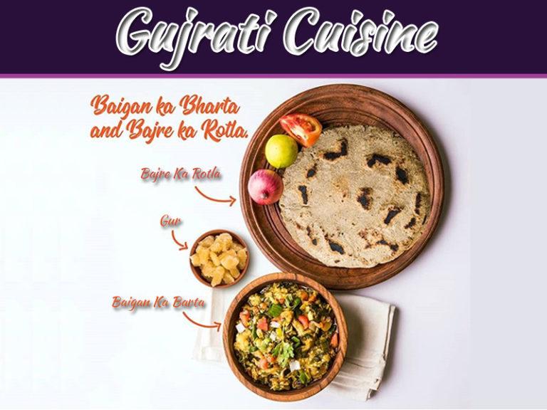 Recipe Of Bajara No Rotlo Ane Ringna No Bhadtho