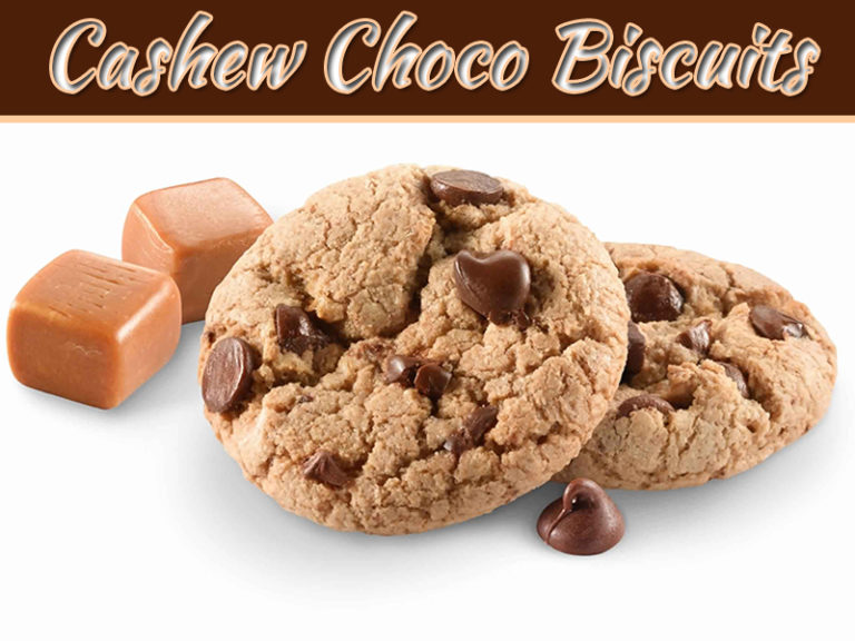 How To Make Cashew Choco Biscuits At Home – Easy Making Recipe