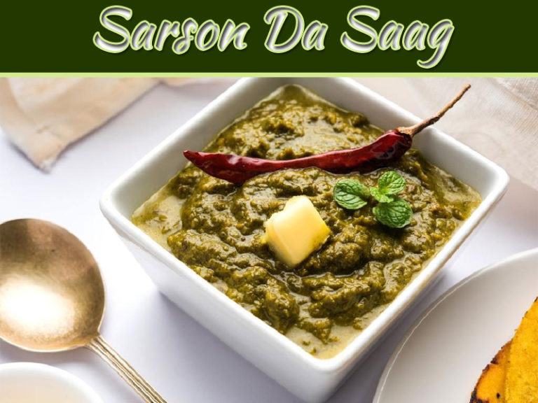Lip Smacking Punjabi Sarson Da Saag Recipe
