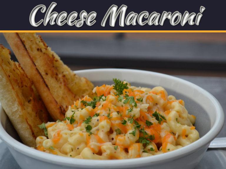 Recipe To Make Cheese Macaroni At Home