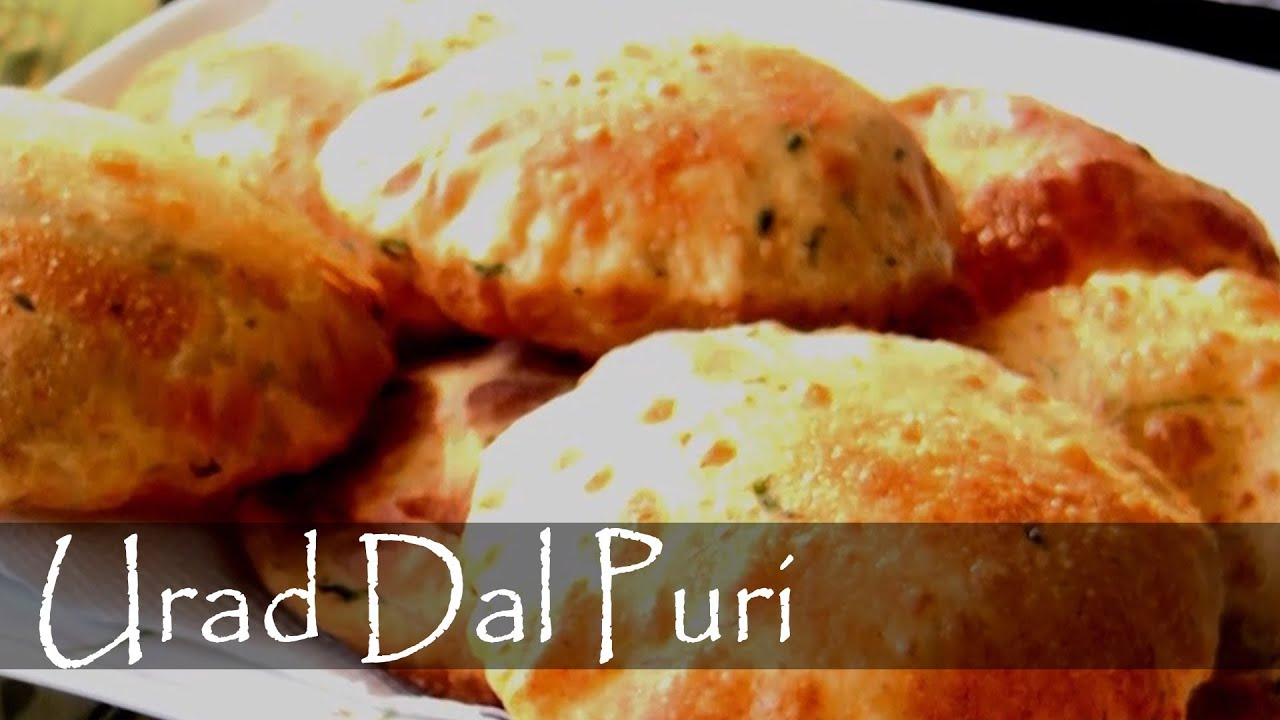 Spicy Urad Dal Puri