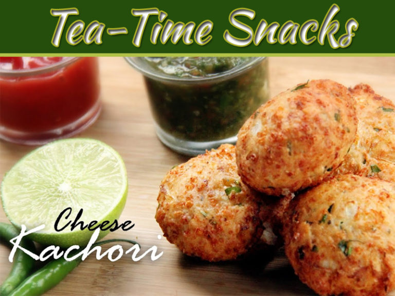 Cheese Kachori Recipe For Tea Time Snacks