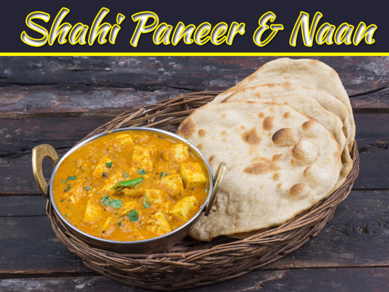 How To Make Shahi Paneer - Restaurant Style Shahi Paneer With Naan