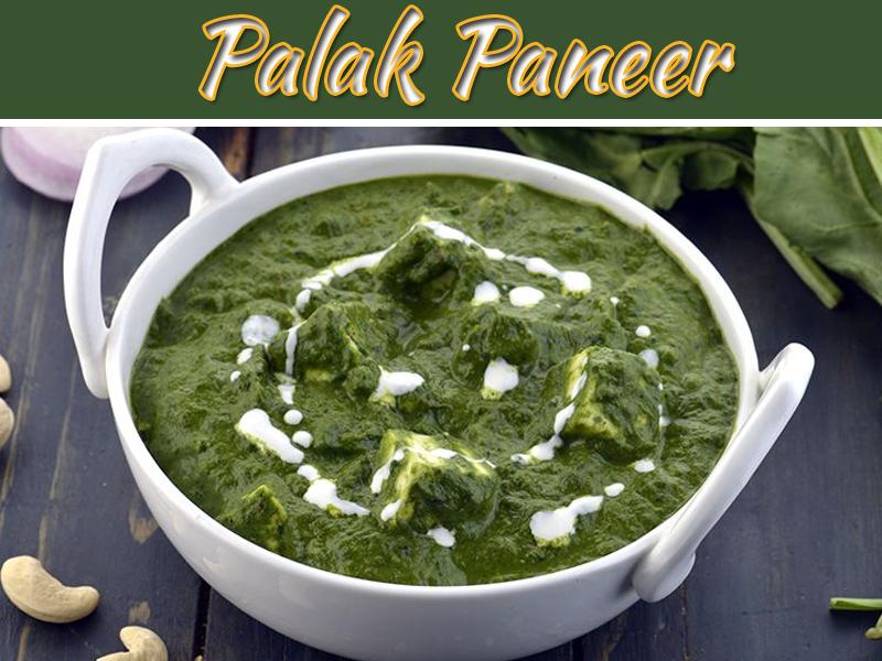 Recipe To Make Delicious Palak Paneer At Home