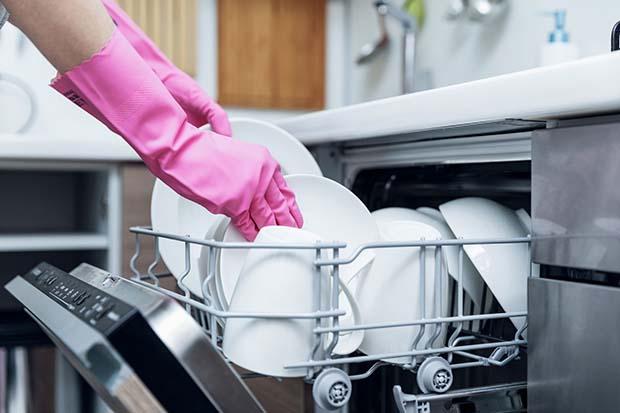 Keep The Dishwasher Clean