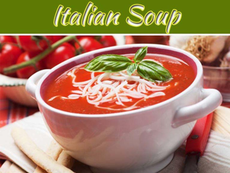 Italian Tomato Vermicelli Soup Recipe