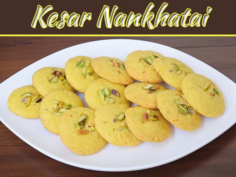 Kesar Nankhatai Making Recipe