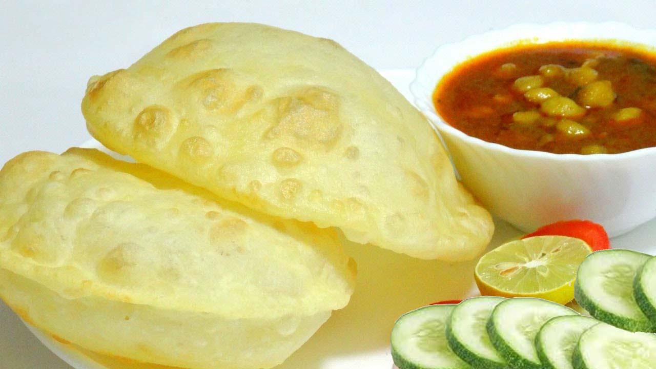 Ingredients To Make Bhature