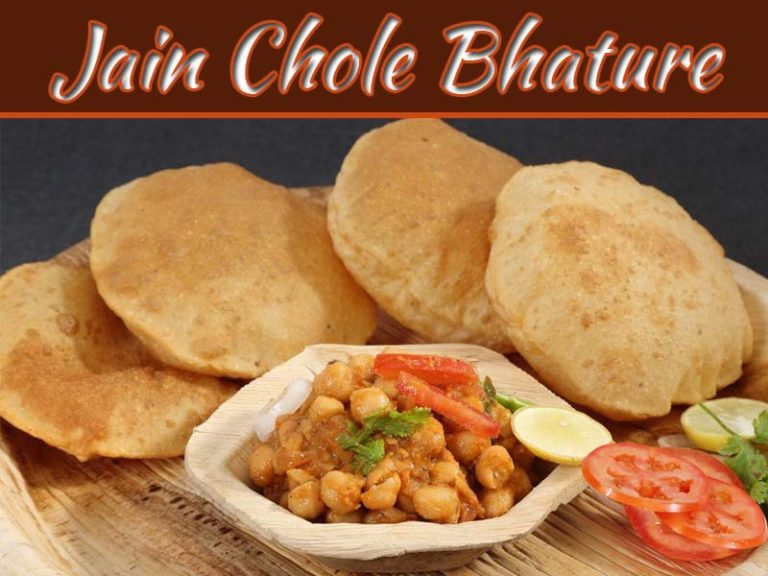 Jain Chole Bhature Recipe