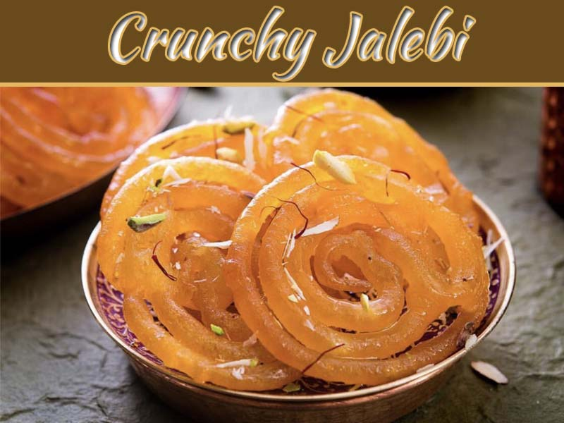 Recipe Of Jalebi - Crunchy Sweet Dish To Tempting Your Mouth