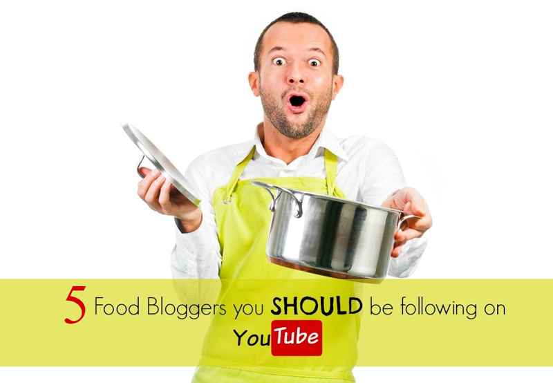 Top 5 Youtube Channels For Foodies