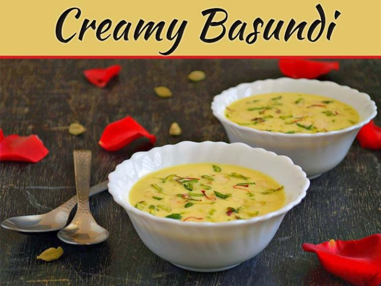 How To Make Traditional Creamy Basundi At Home