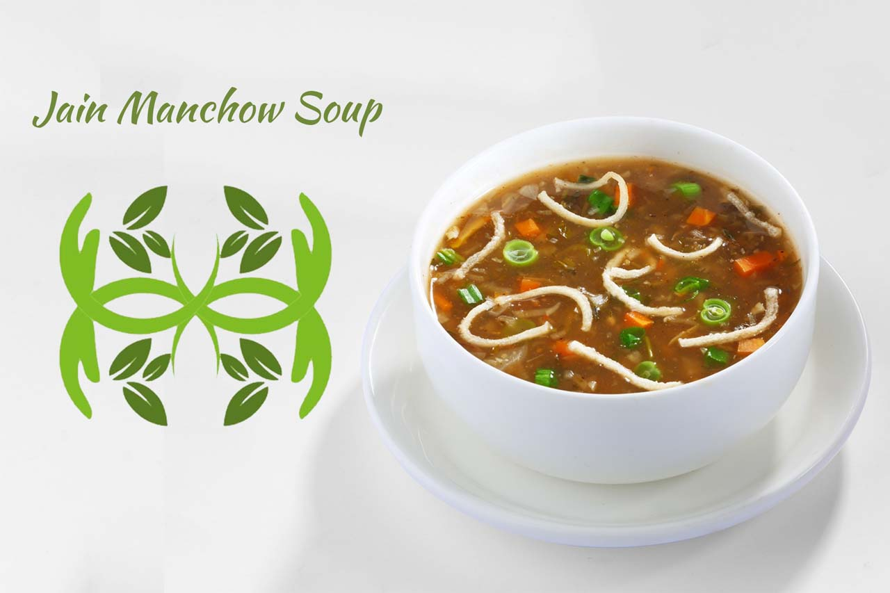 Jain Manchow Soup Recipe