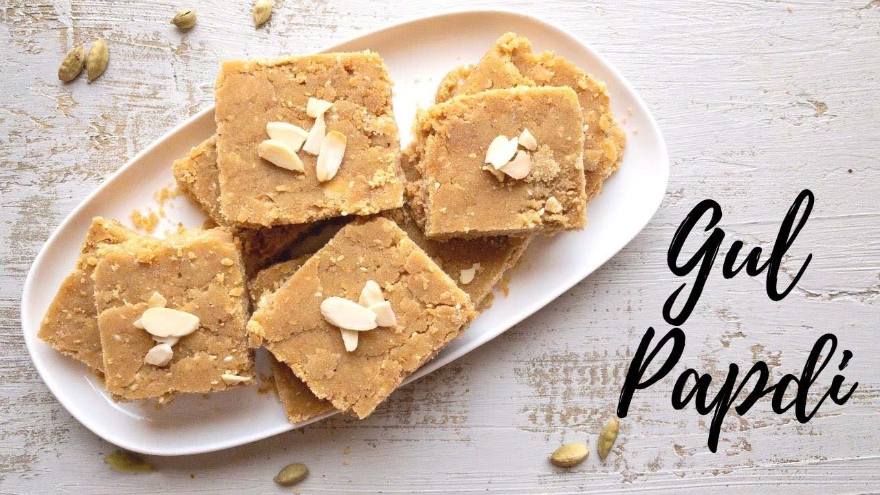 How To Make Sukhdi At Home (Gur Papdi)