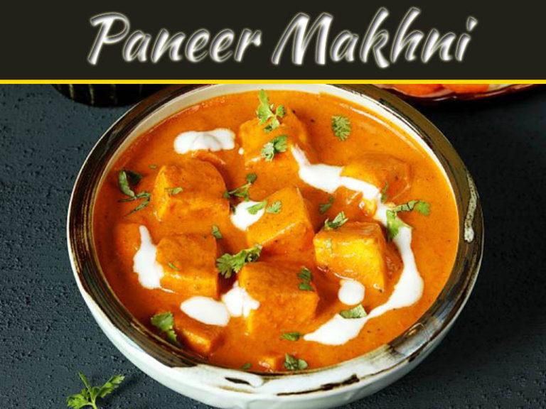 Authentic Paneer Makhni Recipe