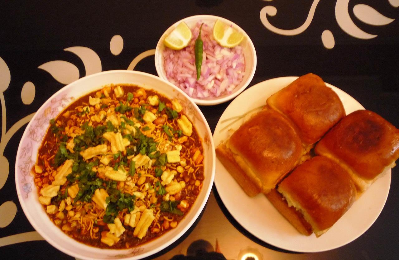 Street Food Type Misal Pav Recipe