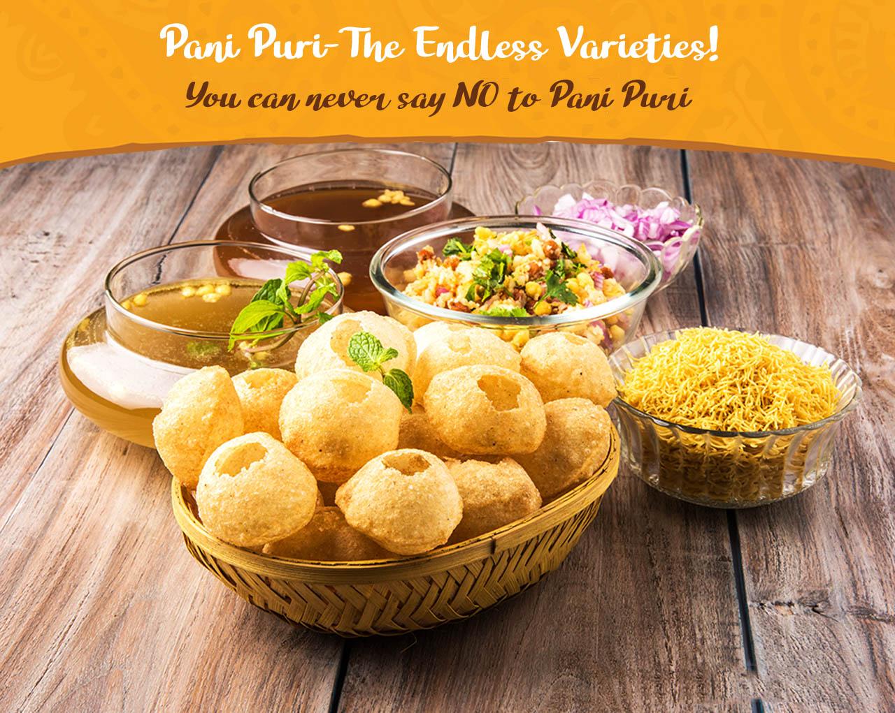 Pani Puri: The Endless Varieties