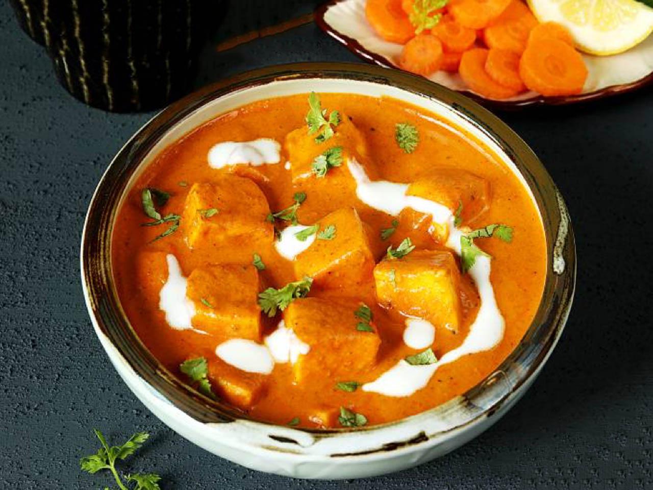 Restaurant Style Paneer Makhni's Recipe