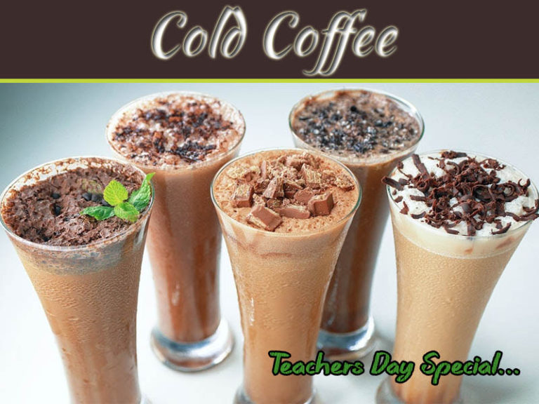 Teacher's Day Special: Mind-Blowing Cold Coffee Recipe