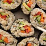 veggie-brown-rice-sushi