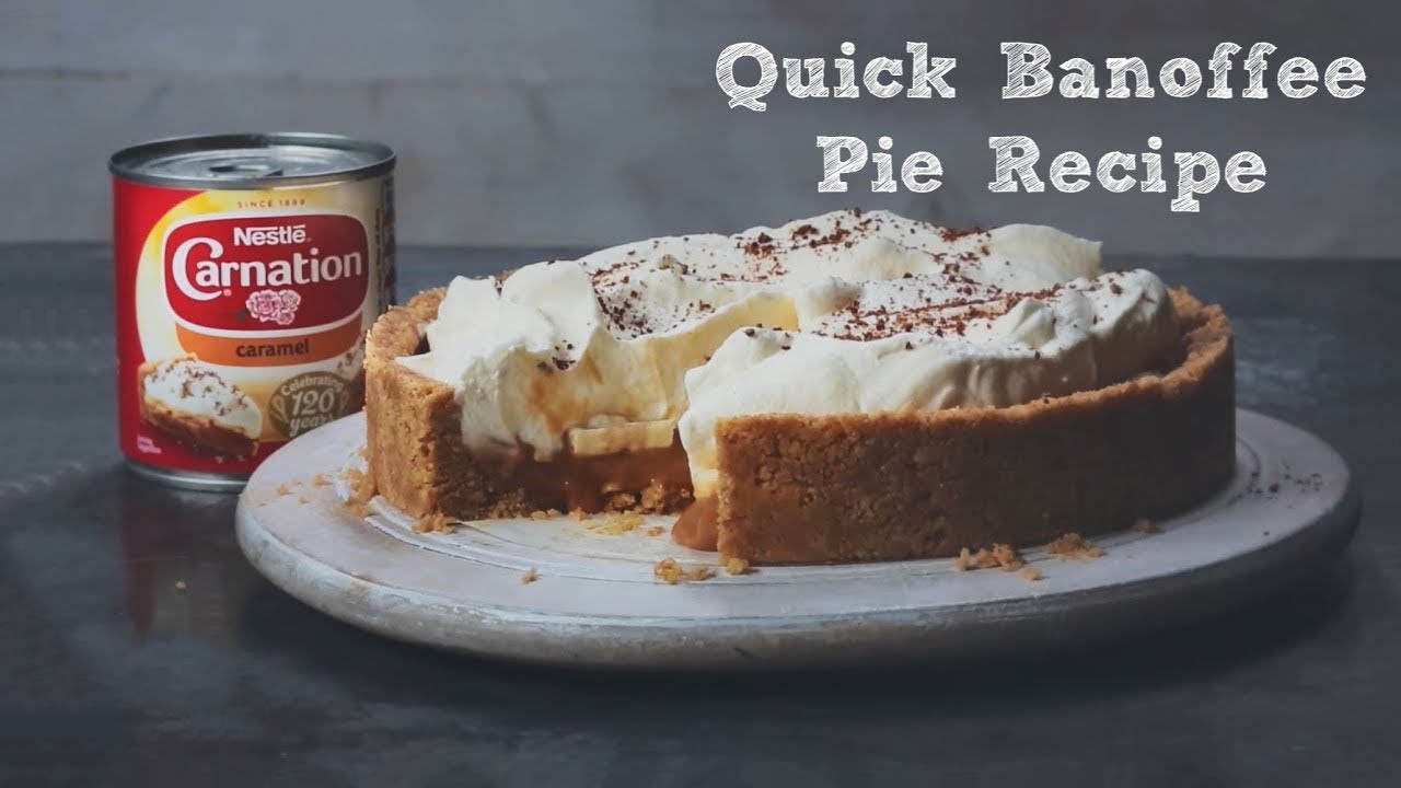 Caramel Banoffee Pie