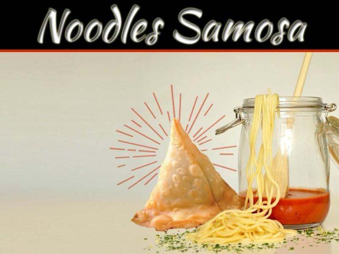 How To Make Noodles Samosa At Home: Delicious Farsan Recipe