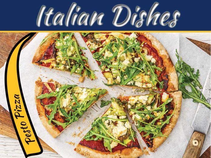 Quick And Easy Pesto Pizza