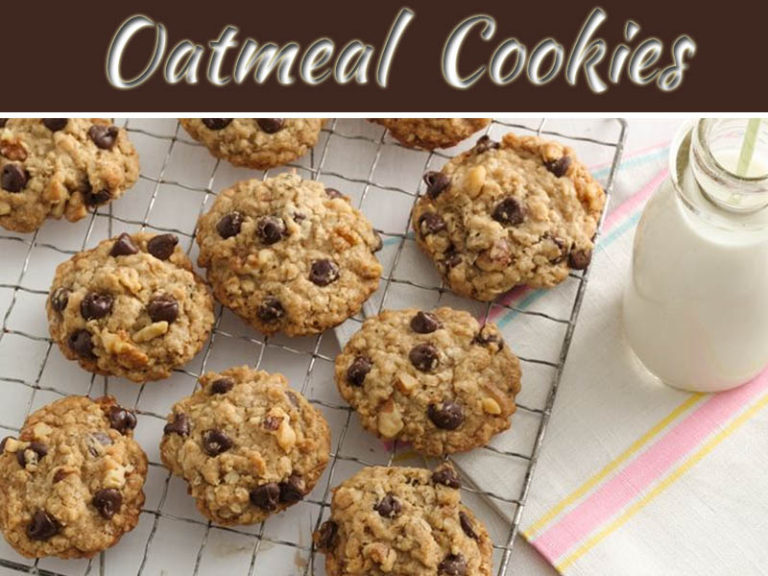 Quick And Tempting Oatmeal Chocolate Cookies Recipe