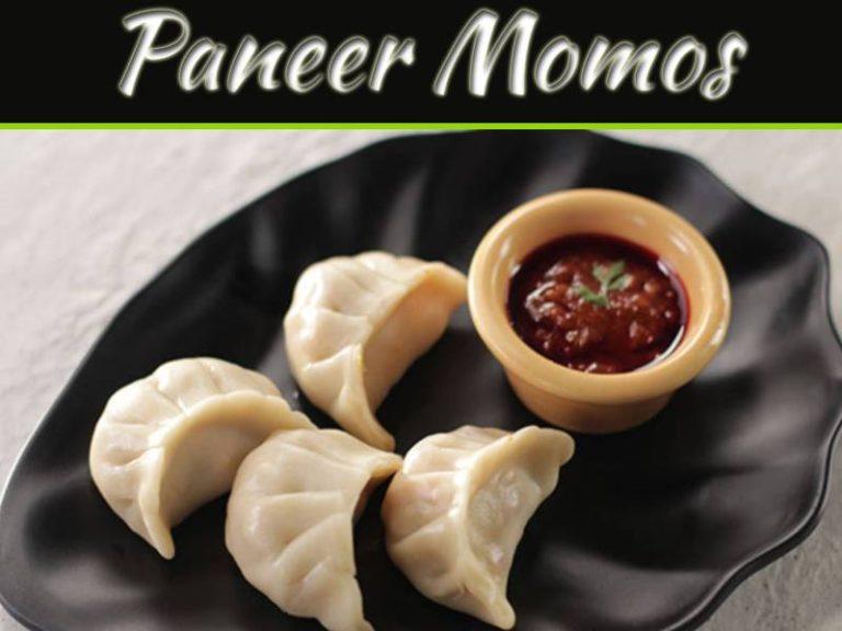 Steamed Veg Paneer Momos Recipe
