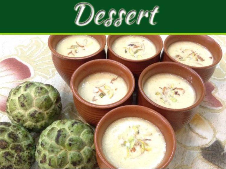 Vasu Baras Special: Custard Apple Basundi Recipe