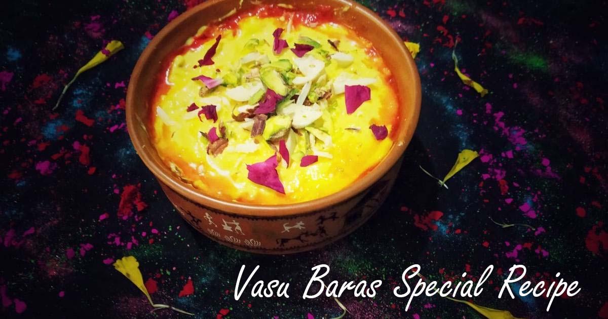 Vasu Baras Special Pineapple Shrikhand