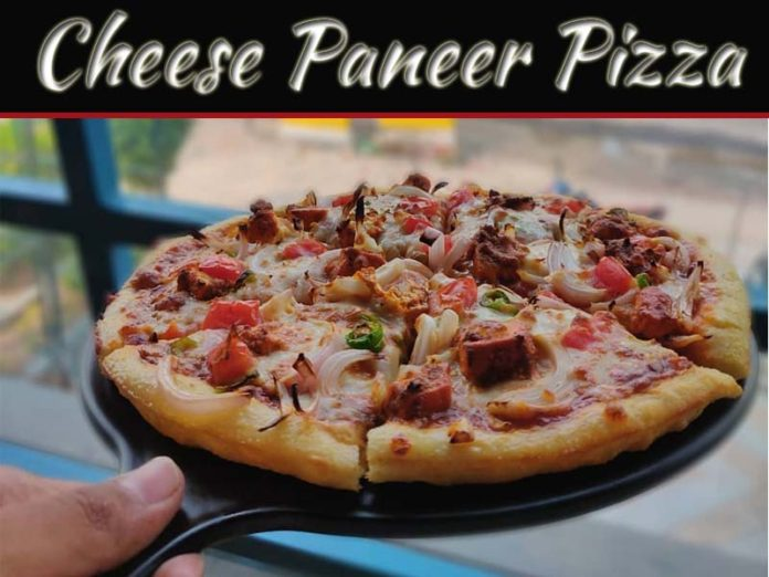 Delicious Combination Of Taste: Cheese Paneer Pizza!