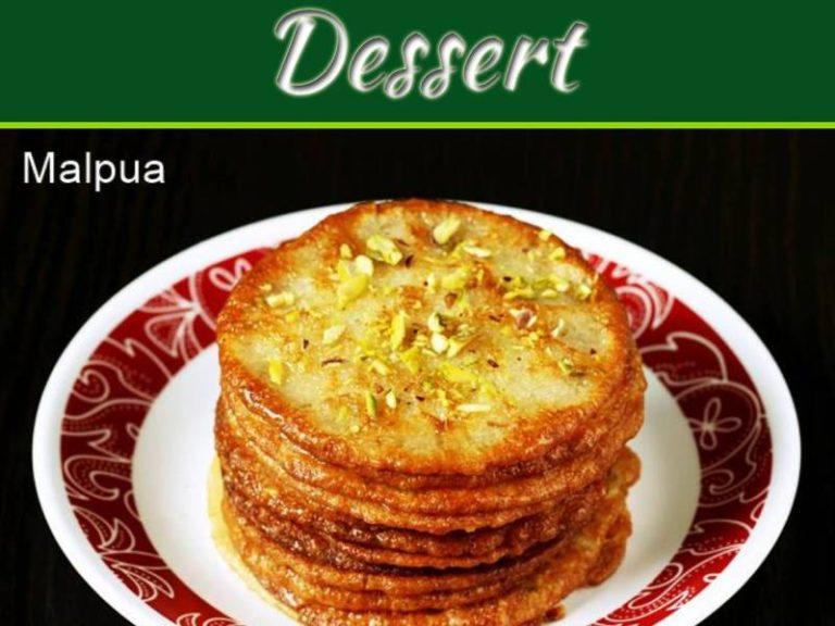 Delicious Dessert For Kali Chaudas: Malpua