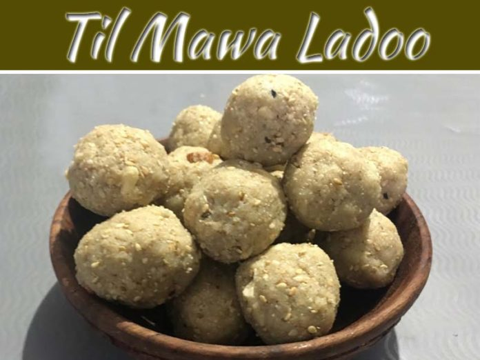 How To Make Til Mawa Ladoo: Special For Lakshmi Puja