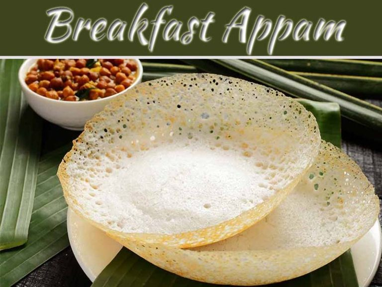 Treat Your Kid Traditional Appam With Coconut Water