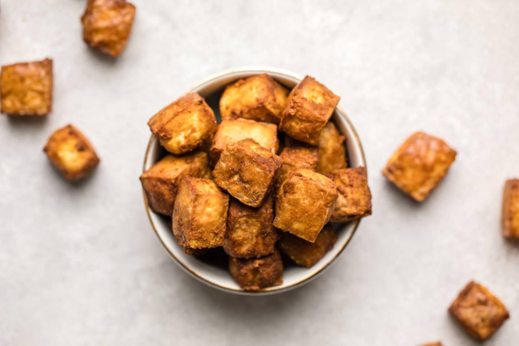 Crunchy Crispy Tofu