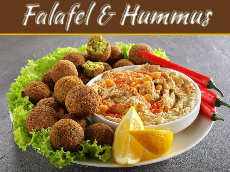 Home-Made Falafel And Hummus Recipe!