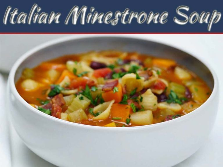 The Healthy Italian Minestrone Soup For Your Soul!