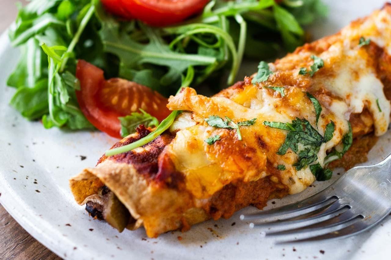The Amazing Vegetarian Enchiladas Recipe