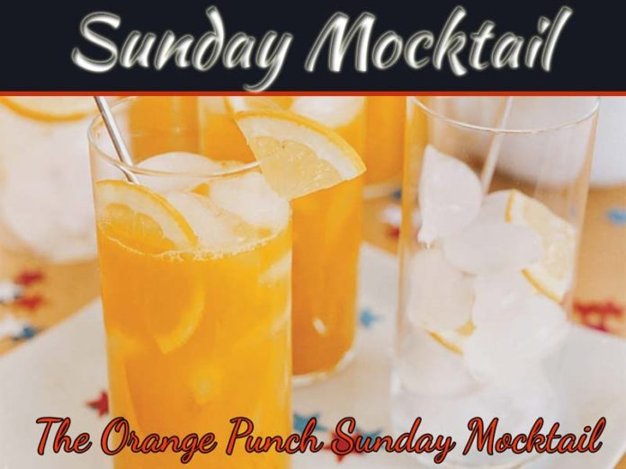Drink Of The Day: The Orange Punch Sunday Mocktail