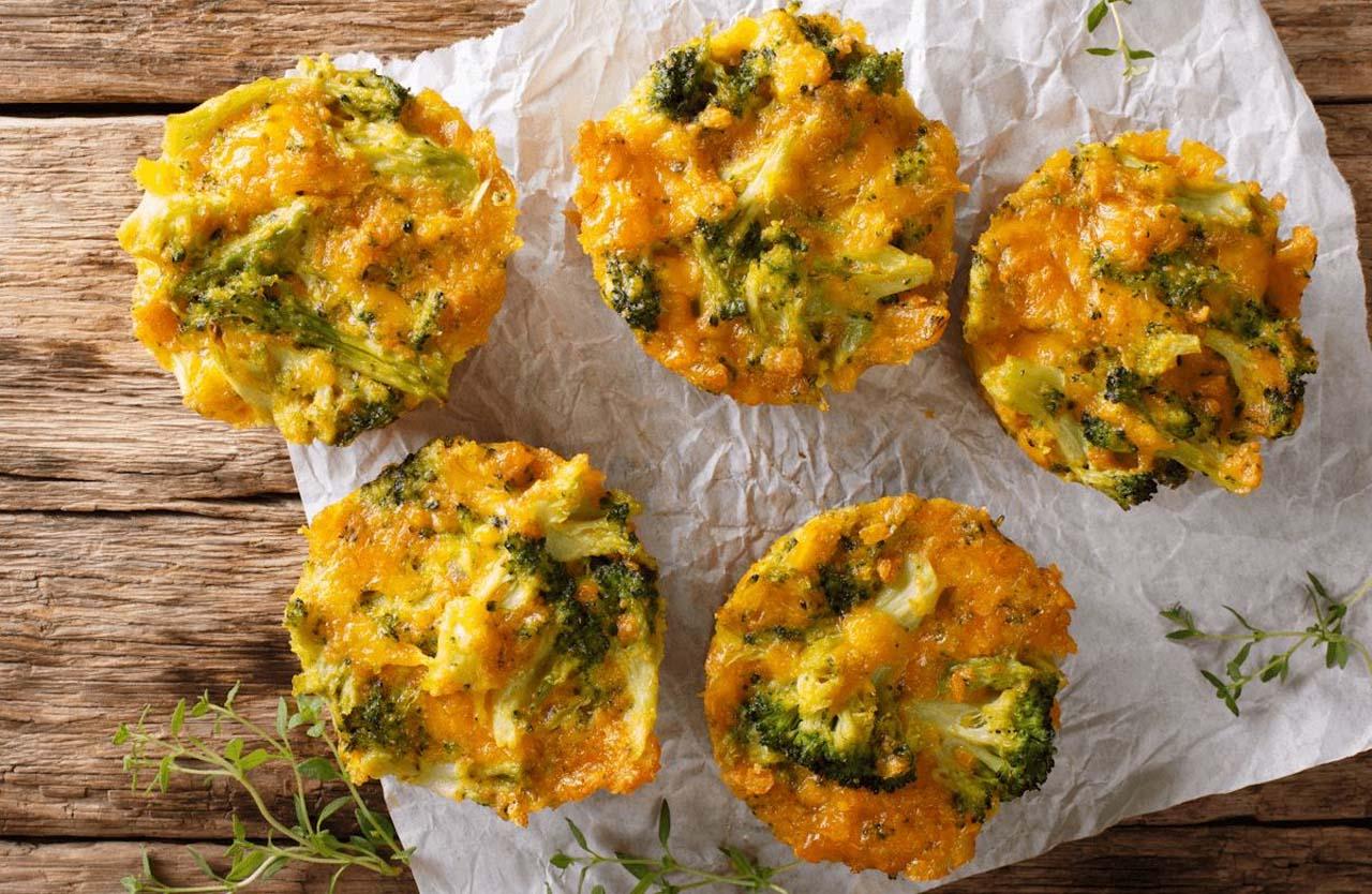 Cheesy And Creamy Broccoli Cheese Balls