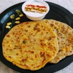 Corn Flour And Mashed Potatoes Paratha