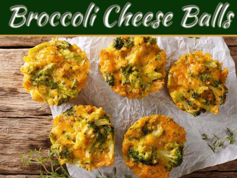 Recipe Of Cheesy And Creamy Broccoli Cheese Balls
