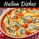 Spinach Ricotta Stuffed Pasta Shells Recipe