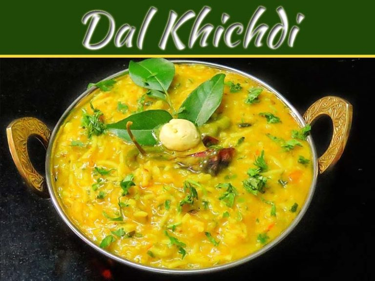 Traditional Indian Dish: Healthy & Delicious Dal Khichdi