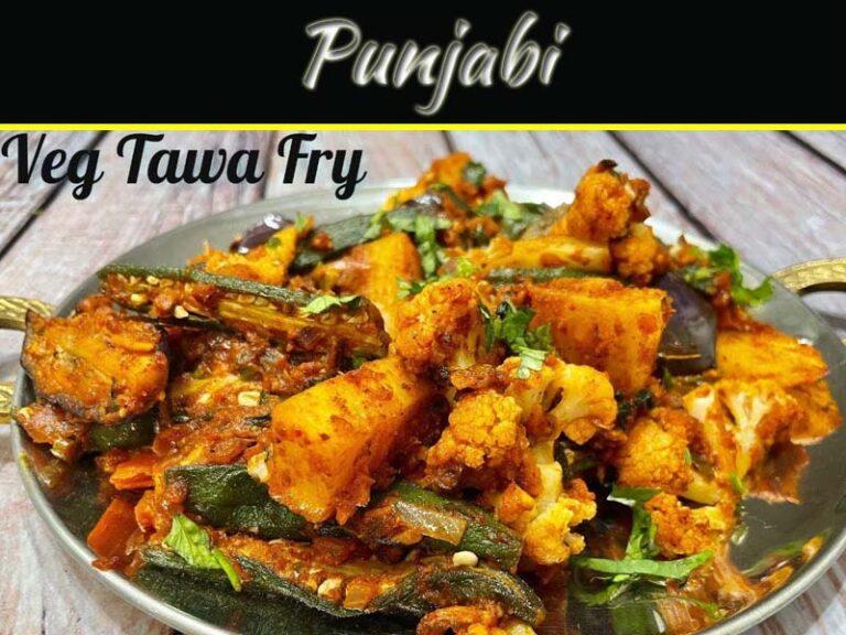 Healthy And Tasty Veg Tawa Fry Recipe